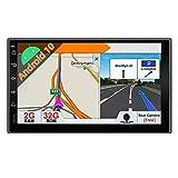 PX6 A72 Android 10.0 Doppel-Din-Autoradio-Kopfeinheit |4G / 64G |Kostenlose Rückfahrkamera |Unterstützung für universelle GPS-Navigation HDMI WiFi BT 4.0 Lenkrad DAB Carplay Mirror Link Google 4G