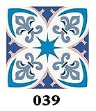 15 teile/satz Bodenfliesen diagonale Wand Aufkleber Schreibtisch Küche Dekoration Kunst Wandbild Badezimmer Glasfliese Taille Linie PVC DIY Wandtattoos (Color : DP039, Size : 10cmX10cmX15PCS)