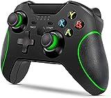 LIJJY Verbessertes Gamepad für Wireless Controller für Xbox One/One S/One X / PS3 / One Elite/Windows 10   Doppelte Vibration