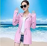 N\C Sonnenschutzkleidung Frauen Sommer Neue schlanke große mittelgroße Strandkleidung langärmeligen fd