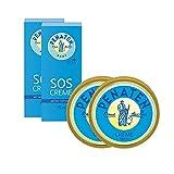 Penaten Babyflege-Set für den Windelbereich - 2x beruhigende Wundschutzcreme 150ml, 2x Kleine Helfer SOS Creme 75ml - Hautpflege im praktischen Vorteilspack