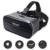 3D VR Brille, VR Headset, Virtual-Reality-Brille, Panorama-Sicht, 360 Grad, für iPhone & Android Smartphone von 4,0-6,0 Z