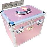 LiLa-Pferd IR Pferde Putzbox Shiny - Schminkkoffer XXL - pink mit N