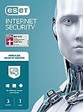 ESET Internet Security 2021 | 3 Geräte | 1 Jahr | Windows (10, 8, 7 und Vista), macOS, Linux und Android | Dow