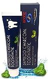 Dr.One Aktivkohle-Zahnpasta für natürliche Zahnaufhellung – Zahnreinigung gegen Plaque, Verfärbung und Zahnstein – Bamboo Charcoal Toothpaste weiße Zähne – schwarze Zahncreme