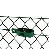 Certeo Drahtspanner   10er Set   Grün   Länge: 100 mm   Spannschloss Edelstahlspanner Seilspanner