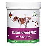 Gardigo Hundeabwehr Granulat für Haus, Garten, Garage und Grundstück | Hundeschreck mit Duftstoff | Alternative zu Hundespray oder Tierabwehr mit U