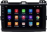 Hesolo Android Auto Stereo Radio Auto GPS Navigator ist kompatibel für Toyota Prado 2004-2009 Multimedia-Player Intelligente Großbild-Reverse-Video-integrierte Maschine Geeignet