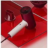 Ys-s Shop-Anpassung Haartrockner für 1800W Professionelle Funentrockner Aluminiumlegierung Leistungsstarke Verzinkte Trockner EU-Stecker (Color : RED, Size : UK Plug)