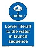 Niedriger Lebensraum für das Wasser in Abschlagfolge.