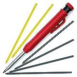 Deesen Solides Zimmermann Bleistift Set für Konstruktion Tul Bleistifte Punkt Fett Druck Bleistifte Holz Marker/Beste Markierung Werkzeuge