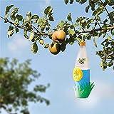 Doherty Wespenfalle – Wiederverwendbare Insektenfalle zum Selbermachen, gelber Trichter, Wespen, Fliegen, Insektenfänger, Falle 10 Stück