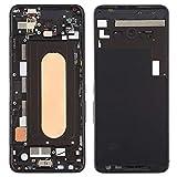 Liaoxig ASUS Spare Mittleres Feld-Lünette Platte mit Seitentasten für Asus ROG Phone II ZS660KL ASUS Spare (Farbe : Black)