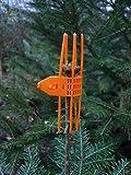 100 Stk. Verbissschutz-Manschetten in Orange * zuverlässig gegen Wildverbiss * N