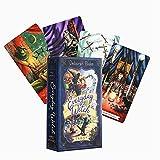 ACCLD Everyday Witch Tarot Karten Englisch Tarot Deck Tischkarte Brettspiele Box Set Spiel Party Spielkarten Unterhaltung Familienspiele