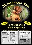 De montagne Noir Trockenfutter Hundefutter mit Insektenprotein für Hunde mit Allergien & Hautproblemen, Gewicht:5 kg