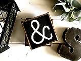 St234tyet Bauernhaus-Schild, gerahmtes Buchstabenschild, Zahlenschild, Einzelbuchstabenschild, Initialenschild, Monogramm-Schild, Großbuchstabenschild, Fixer Upper