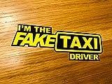 FAKETAXI Driver Aufkleber Sticker Porn Lustig Fun Geschenkidee YouPorn Decal UK Mi484