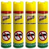 HAC24 4er Set Wespen Spray 400 ml Wespenspray Wespennest Bekämpfung Wespenbekämpfung Insektenspray Wespen Schutz Wespenabwehr