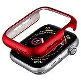 Spigen Thin Fit Kompatibel mit Apple Watch Hülle für 40mm Serie 6/SE/5/4 - Rot