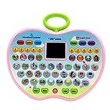 TOYANDONA Kinder Lernen Pad Spaß Tablet Kleinkind Lernen Spiele Frühen Kind Entwicklung Spielzeug für Anzahl Lernen ABCs Rechtschreibung Worte Musik Junge Mädchen Geschenke Zufalls Farbe