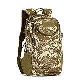 YAAGLE 20L 25L Freizeit Rucksack wasserdicht outdoor Gepäck Reisetasche Bersteigen Taschen Schultasche Laotoptasche-Tarnung 3