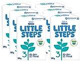 Nestlé LITTLE STEPS 3 Folgemilch im Anschluss an das Stillen, ab dem 10. Monat, 6er Pack (6 x 500g)