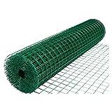 HOME-MJJ Haushaltsstacheldrahtzaun, Hühnerzuchtnetz Hühnerzaun Schutznetz Stahldraht Isolationsnetz Eisennetz Außenschutz (Color : 1.5m, Size : 2.0mm Weight)