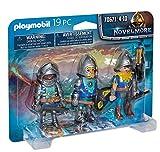 PLAYMOBIL Novelmore 70641 3er Set Novemore-Ritter, Ab 4 Jahren