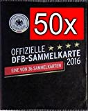 WIZUALS 50x DFB Sammelkarte EM 2016 REWE Neu & OVP incl Sticker