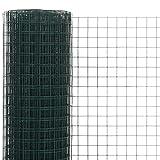 Engfgh Draht Mesh Fechten PVC Beschichtete Geschweißte 1,5 M X 18m Aviat-Kaninchen Hutch Chicken Cop-Haustier Für Den Außenhuhn-Kaninchen-Zaun Garten-Barriere-Netz