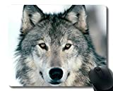 Gaming Mouse Pad Custom, Tier Wolf Knie Gaming Mousepad Mat