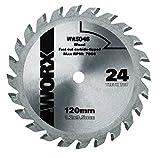 Worx TCT Sägeblatt 120 mm. 24 Zähne. 1 Stück. WA5046