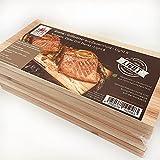 MASTER PIECE Light Eight Zeder 8 Grillbretter aus Zedernholz Grillplanken Premium Qualität, Set à 8 STK, BBQ Räucherbretter im günstigen 8er Pack