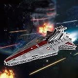 KOAEY Raumkreuzer Bausteine, 6685 Teile Mould King 21005 Sternenzerstörer Modell Star Wars Super Star Zerstörer Kompatibel mit Lego