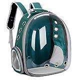 YCXM Katzentragetaschen Atmungsaktive Haustierträger Kleiner Hund Katzenrucksack Travel Space Kapselkäfig Haustiertransporttasche Tragen für Katzen-N