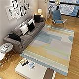 ZAZN Der rutschfeste Und Verschleißfeste Rechteckige Teppich Eignet Sich Für Wohnzimmer-Sofa, Couchtisch, Bodenmatte Und Schlafzimmer Mit Geometrischem M