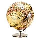 YUXIwang World Globe. Home Retro World Globe Detaillierte Weltkarte, Bildungsgeschenk, Nachtständer Dekor für Kinder Erwachsene