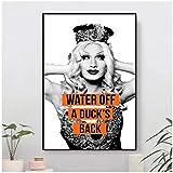 wzgsffs Jinx Andlt 3 Wandkunst Poster Und Drucke Druck Auf Leinwand Gemälde Für Wohnzimmer Home Schlafzimmer Dekorative Cafe-20X30 Inchx1 R