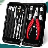 SHYPT Nagelrille spezielle Nagelknipser Set Zehennagelschere Pediküre Messer Olecranon Zange Haushalt Nadel-Zange Artefakt Werkzeug