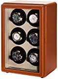 JJDSN Watch Winder 6, automatische Watch Winder Box WatchCasWatchBoxWinders Display-Speicher