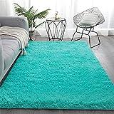 Einfacher Einfarbiger Plüsch-Teppich, Nachttischdecke Im Schlafzimmer, Sofa-Bodenmatte Im Wohnzimmer, Home-Couchtisch-Matte 160x230cm