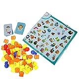 Zerodis Finden Sie Bilder Brettspiel Kinder Desktop Puzzle Schachspiel Spielset Pädagogische Paare Spielen Trainingsspiel Frühe Entwicklung Werkzeug Geschenk Für Kinder