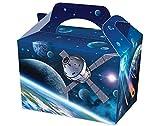 PW Einzelne Weltraumkarte für Partys oder Leckerlis, für Kinder-Partys, Picknick-Box