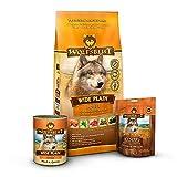 Wolfsblut - Wide Plain Trockenfutter Mixpaket 2 kg + 395g + 225g - Trockenfutter - Hundefutter - Getreidefrei - Probierpaket