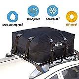 LBLA Dachtasche 600D / PVC, Faltbarer und Wasserdichter Dachbox für Reise und Gepäcktransport