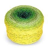 Rellana Regenbogen Fun, Farbe 632 -'Meadow, Bobbel Wolle Farbverlauf, Farbverlaufsgarn