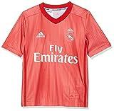adidas Unisex Kinder Real Madrid Third Fußballtrikot M Real Coral/Vivid Red