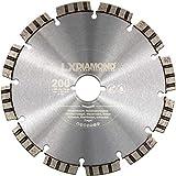 LXDIAMOND Diamant-Trennscheibe 200mm Premium Diamantscheibe Beton Mauerwerk Stein passend für Lamello Tanga DX200 Fensterfräse Montagefräse 200
