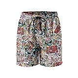XCNGG Strandshorts Peppermint Butler Candy Loyal Comic Men's Swim Trunks Pockets Mesh Lining Printed Summer Beach Short